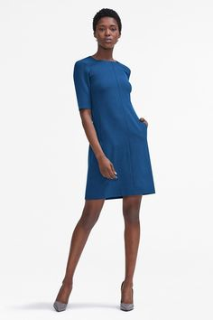The Emily Dress | MM.LaFleur The Emily dress is unmistakably ladylike but can hold its own in a room full of suits. She's the perfect A Line dress to add to your work wardrobe.