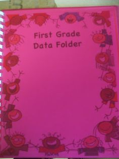 Welcome to First Grade Room 5: Data Folders What an awesome idea! Not only can it be used to track weekly progress but also common assessment data.