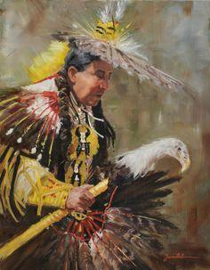 """""""Eagle Dancer"""" by Cynthia Feustel"""