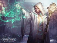 #AweSomEilluStrationS - Cleric by LASAHIDO on deviantART