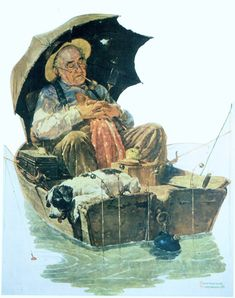 Norman Rockwell Nostalgic Pirate Print HOME