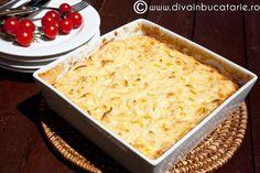 BUDINCA DE PASTE CU TELEMEA | Diva in bucatarie Paste, Mashed Potatoes, Macaroni And Cheese, Ethnic Recipes, Food, Whipped Potatoes, Mac And Cheese, Smash Potatoes, Essen