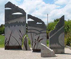 The Panels Art Pieces, Sculpture, Park, Medium, Travel, Viajes, Artworks, Art Work, Sculptures