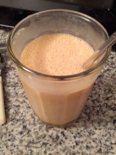 Keto-style frappachino beverage