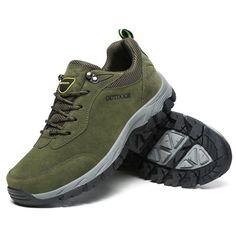 Waterproof Men s Hiking Shoes Outdoor Climbing Sneakers Athletic Big Size 12 d9603c3ee