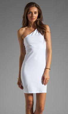 Susana Monaco One Shoulder Dress in Sugar $88