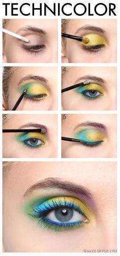 TECHNICOLOR - Spring 2013 #makeup