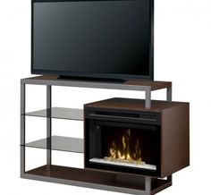 Dimplex - Electric Fireplaces » Media Consoles » Products » Hadley Media Console