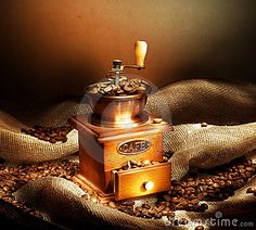 Coffee Grinder by Subbotina, via Dreamstime