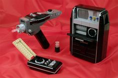 Star Trek Tricorder, Phaser and Communicator In LEGO Form