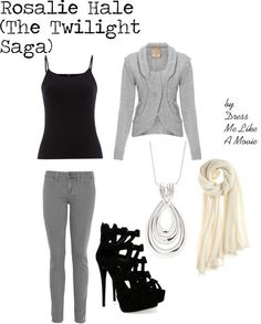 """Rosalie Twilight"" by dressmelikeamovie on Polyvore"