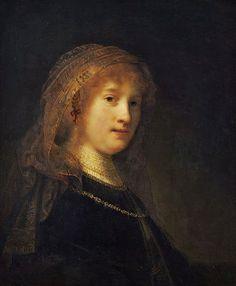 Saskia van Uylenburgh By Rembrandt