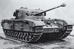 Black Prince was a prototype for a heavier Churchill tank that never entered…