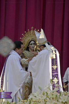 Primer Aniversario de Consagración Virgen de Dolores de la Merced