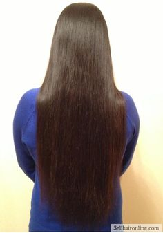 Awesome 24″ and 4.5″ thickness black healthy virgin hair for sale