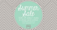Blithe Boutique Summer Sale! 50% off! Amazing deals at one of my fav stores!!