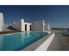 Greek Island Seaside Mansions - The Edge Summer Houses by React Architects Boast Panoramic Views