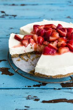 Strawberry Cheesecake - the most superior dessert
