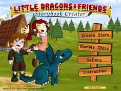 Little Dragon and Friends by Captive #Games - an app for creating e-books (with fantasy/dragons theme).  Original Appysmarts score: 66/100  #kids #apps #kidsapps