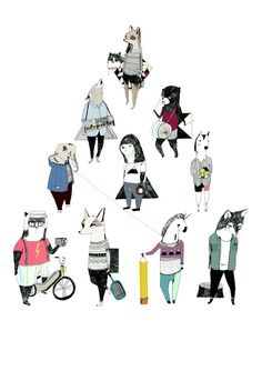 Triangle 8 x 11 Print by Juliapott on Etsy, $17.00