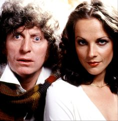The 4th Doctor (Tom Baker) and Romana I (Mary Tamm) - 1978 to 1979.