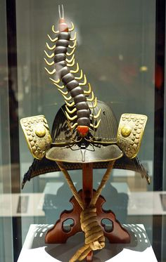 Samurai Helmet with Centipede (photo: Richard Due/flickr)