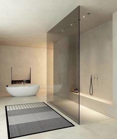Home Room Design, Home Interior Design, House Design, Simple Interior, Dream Bathrooms, Beautiful Bathrooms, Luxurious Bathrooms, Design Minimalista, Bathroom Design Luxury