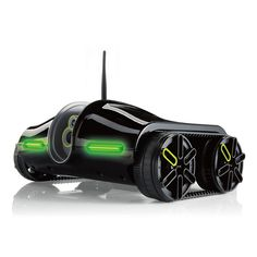 We need this for the Glossi HQ! Our dev team would love it. A remote control tank that is operated from your iPad, iPhone or iPod, or Android smart phones and tablets. Love it!