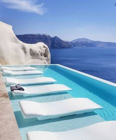 Canaves Oia Luxury Resort & Villas - Honeymoon Destination In Santorini, Greece - All Time Best Honeymoon . Santorini Island, Santorini Greece, Luxury Boat, Luxury Travel, Hotels And Resorts, Best Hotels, Luxury Hotels, Dream Vacations, Vacation Spots
