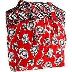 $65.00-$68.00 Handbags  Vera Bradley Criss Cross Tote Bag in Deco Daisy - A stylish Vera Bradley for casual and dress use. This handbag has colorful Vera cloth and will match many outfits! http://www.amazon.com/dp/B004XUOM0C/?tag=pin0ce-20