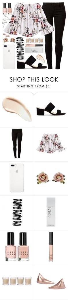 """""""you're the beat to my melody"""" by pepperxnostalgia ❤ liked on Polyvore featuring Burberry, Vince Camuto, Dorothy Perkins, Les Néréides, NARS Cosmetics, Bobbi Brown Cosmetics, Shabby Chic and Crusoe"""