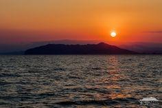 Sunset and Mt Hakodate.