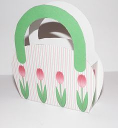 Don't Eat the Paste: Tulip Purse Box