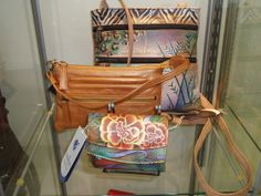 Anuschka hand-painted leather bags - to die for !! see us at www.zarazny.com and Facebook - Zaraz Collection  http://www.facebook.com/zarazcollectionny www.zarazny.com