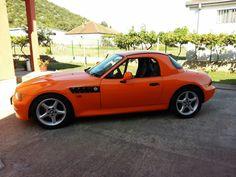 BMW Z3 orange Bmw Z3, Bmw Series, Bmw Cars, Manual Transmission, Poodles, Wheels, Orange, Nails, Baby