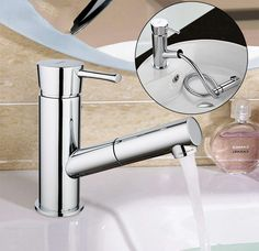 GAPPO water mixer Basin sink faucet basin mixer brass tap bathroom faucet chrome pull out modern bathroom faucet tap