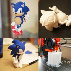 Sonic the Hedgehog by JMRS #toysandgames #mmu2