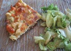 Quiche sans pâte saumon/courgette, Recette Ptitchef
