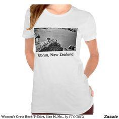 Women's Crew Neck T-Shirt, Size M, New Zealand