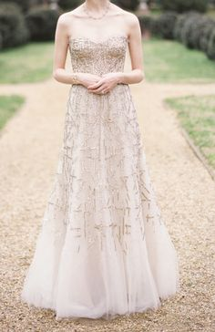 wedding gown / monique luhllier