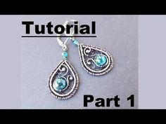 Start with two 20 gauge pieces of 8 inch dead soft, round, copper wire(feel free to use other metals, copper is just what I use in this video) Use 28 gauge r...