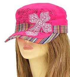 Pink Aztec Print Cross Cadet Hat Fashion Agency, Fashion News, Fashion Brands, Trendy Handbags, Military Fashion, Aztec, How To Look Better, Celebrity Style, Topshop