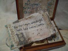 Art Assemblage musical story box Midsummer by MesssieJessie