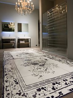 leather-floor-mats-by-Antonio-Lupi bathroom
