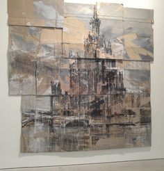 Valery Koshlyakov, 'High-rise of Raushskaya Embankment' Tempura on cardboard Watercolor Architecture, Architecture Art, Environment Painting, Saatchi Gallery, City Painting, Galleries In London, A Level Art, Landscape Paintings, Abstract Paintings