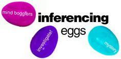 Inferencing eggs- get easter eggs and assign each child for homework to put something inside and write three clues - then pick an egg or two a day or assign only guided reading groups this activity