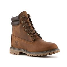 Timberland Waterville Bootie Brown Size 6.5