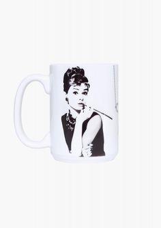 Audrey Mug in White   Necessary Clothing