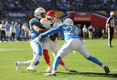 Chargers defense faces toughest test of young season against Jaguars = While there are a lot of blame to go around for the humiliation in Kansas City, the secondary is not one of them. Tasked with corralling a Chiefs offense that relied on the passing game in Jamaal Charles' absence, the.....