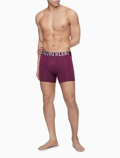 Featuring a bold waistband logo design, made with silky microfiber for enhanced movement and comfort. This retro-inspired boxer brief is designed with a contoured pouch for a smooth finish, seaming accents and statement logo printing at the back. Body Reference Poses, Anatomy Reference, Drawing Reference, Standing Poses, Man Standing, Man Full Body, Men Logo, Male Models Poses, Barefoot Men